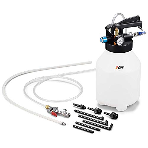 EWK 6L ATF Automatic Transmission Fluid Fill Pump Pneumatic Oil Suction Extractor Refill System Dispenser