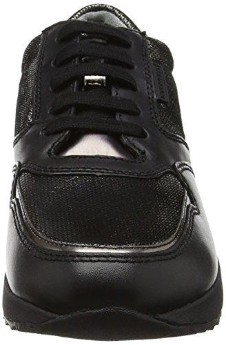 Stonefly Damen Stone Lady 1 Sneakers Schwarz (Nero-Black 000)