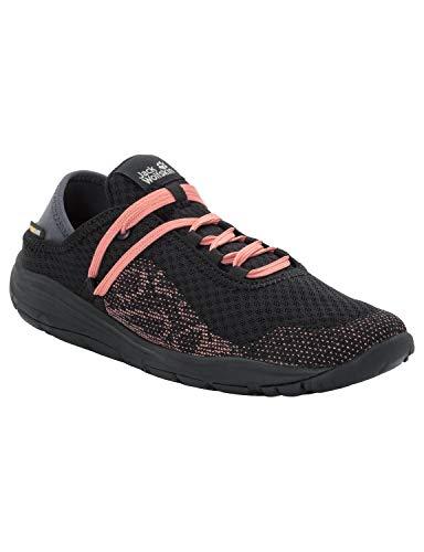 Jack Wolfskin Seven Wonders Packer Low Women's Casual Sneakers, Black, US 8 D US from Jack Wolfskin
