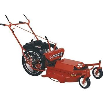 Sarlo Autopropulsado 3 velocidades rueda alta cortacésped, BRIGGS & Stratton Motor, 30 en.