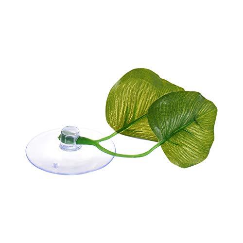 1 Planta Artificial para Acuario dise/ño de Hojas de Pescado hamacas Comtervi dise/ño de Hojas de Peces