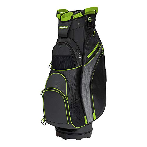 Bag Boy Chiller Cart Bag Black/Charcoal/Lime Chiller Cart Bag