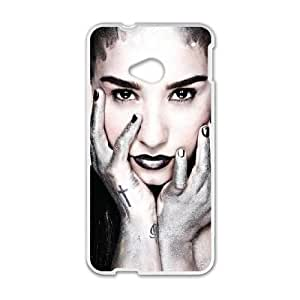 HTC One M7 Cell Phone Case White Demi Lovato as a gift P9220166