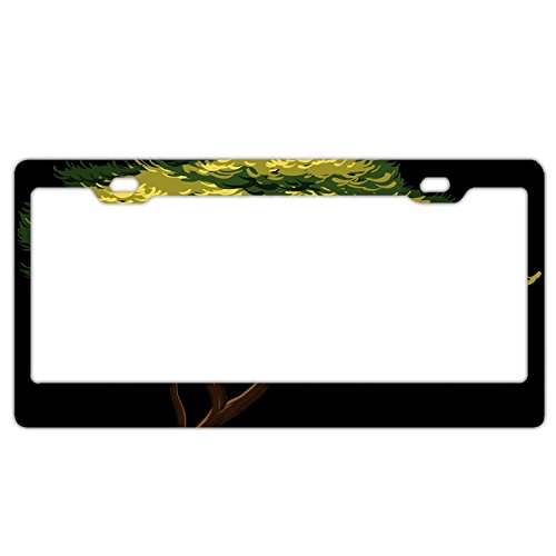 Tree Clipart - KSLIDS African Tree Clipart License Plate 12