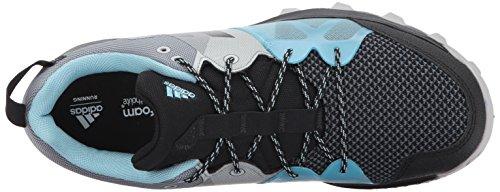Adidas Outdoor Womens Kanadia 8,1 W Scarpa Da Trail Running Nero / Nero / Blu Ghiaccio