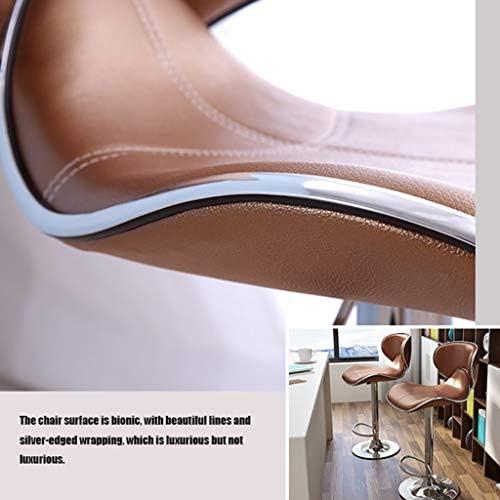 Chaise de Bar - Chaise de Bar Ascenseur Creative - Accueil de Cuisine Chaise/Chromé Base - Siège rembourré