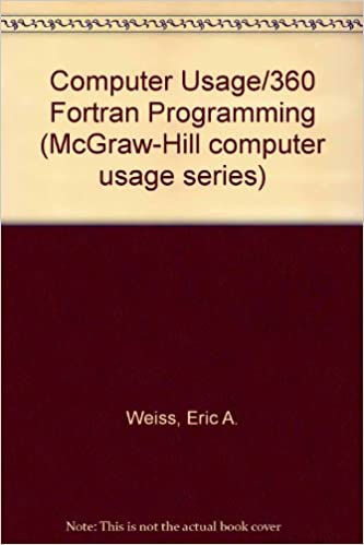Computer Usage/360 Fortran Programming - Ebooks