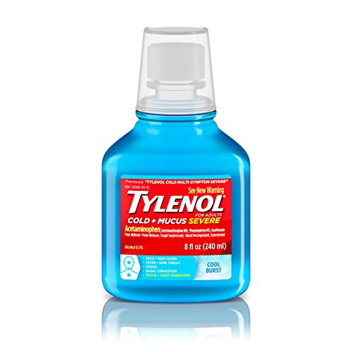 (Tylenol Cold + Mucus Severe Daytime - Cool Burst , 8 Oz.)