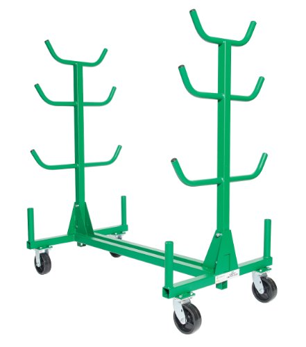 Mobile Clamp Rack - Greenlee 668 Mobile Conduit and Pipe Rack