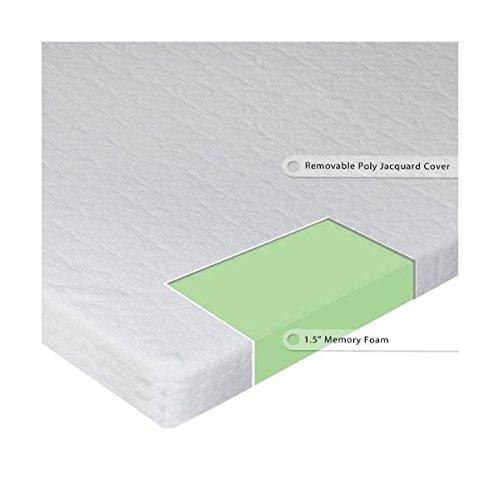 Sleep Master Sleeper Sofa Memory Foam Mattress Topper Twin Wide
