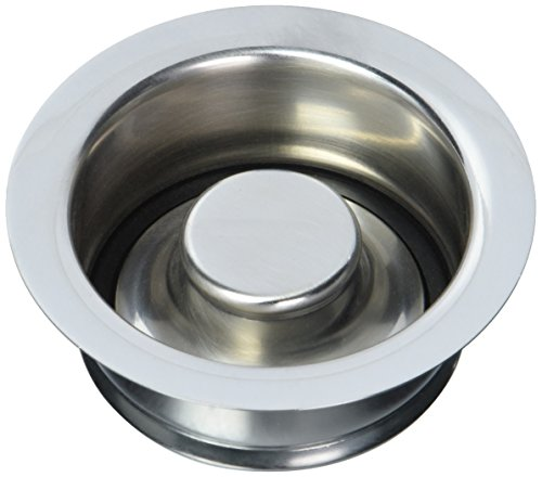 Jaclo 2815-SC Garbage Disposal Flange with Stopper, Satin - Supply Jaclo