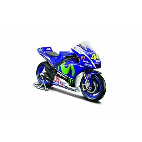 Maisto 531407-46 - Motocycle Miniature Yamaha 15 46 - Valentino Rossi - Echelle 1/10