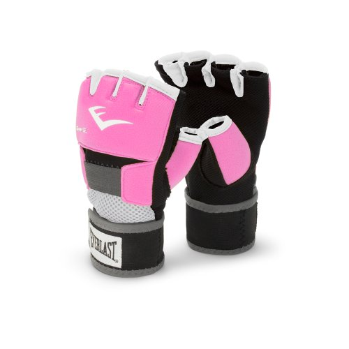 Everlast Pink Women's Evergel Hand Wraps (Medium)