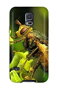 For Galaxy S5 Fashion Design Bee Photo Case-rRukvhS11288nFWAV