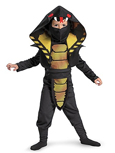 Cobra Ninja Toddler Costume, 3T-4T -