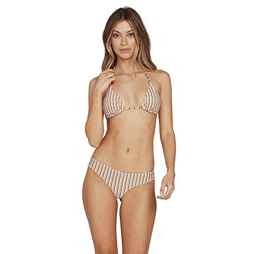Volcom Women's E'ry Minute Cheekini Swimsuit Bikini Bottom
