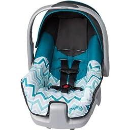 Best Evenflo Nurture Infant Cute Newborn Baby Car Seat, Blake