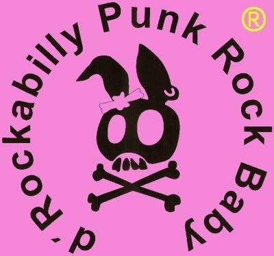 Rockabilly Punk Rock Beb/é Femme Noir Designer Tank Top Chemise Biker Gothique Cr/âne Ange Mouche Tatouage Design