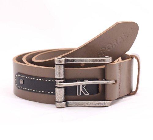 Kaporal Men's Movie Leather Belt