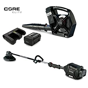 CORE E400 & E420 ELITE TRIMMER & LEAF BLOWER 1-Battery 1-45-Minute Dual Charger