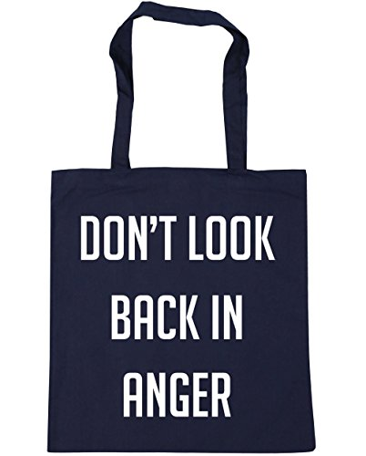 HippoWarehouse x38cm Navy Gym litres Shopping French 42cm 10 back Don't Bag in anger Tote Beach look rZrxPS0