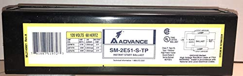 [해외]어드밴스 SM-2Ee51-F42T6 마그네틱 안정기 F64T6 F72T8 F96T8 / Advance SM-2E51-S-TP Magnetic Ballast For F42T6 F64T6 F72T8 F96T8