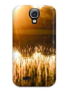 Sanp On Case Cover Protector For Galaxy S4 (sunlight Reflecting In The Pond)