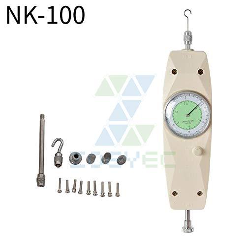 ZOEYEC Mechanical Analog Push Pull Gauge Force Gauge NK-100