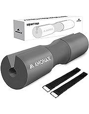 AMONAX Barbell Squat Pad, extra dikke schuimvulling voor nek- en schouderondersteuning, Heavy Duty Gym Fitness Workout Cover voor Vrouwen Hip Thrusts, Gewichtheffen en zware squats