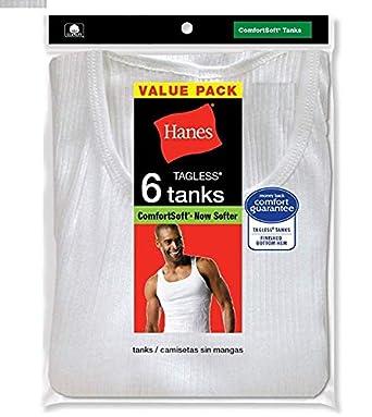 Hanes Mens ComfortSoft Tanks