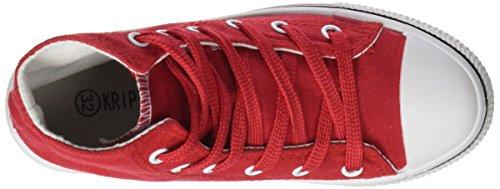 Nero Taglia Alta West 44 Kripton Red Scarpe rosso UqTHUW4X