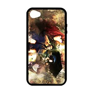 iPhone 4 Case, [steins gate] iPhone 4,4s Case Custom Durable Case Cover for iPhone4s TPU case (Laser Technology)
