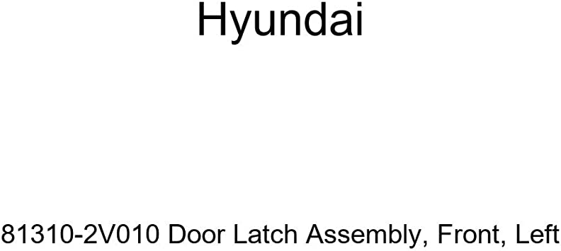 Left Genuine Hyundai 81410-3X000 Door Latch Assembly Rear