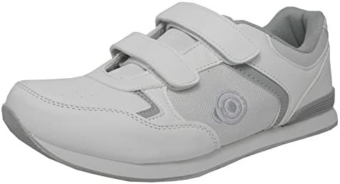 Dek Trainer Flacher Sohle leicht Klettverschluss Schalen Schuhe Bowling