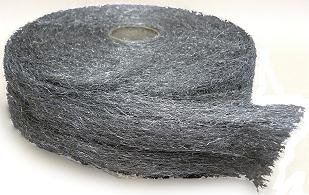 #3 Steel Wool (Coarse) 5 - 5LB rolls/case) by International Steel Wool