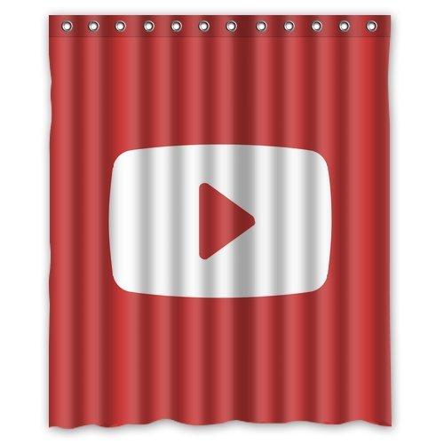 youtube shower curtain - 3