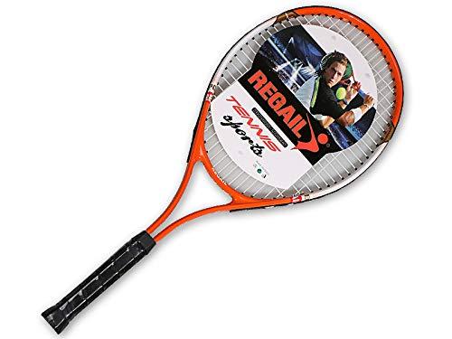 Whj Raqueta de Tenis de Combate Real, Material de Fibra de Carbono, Durable, Raqueta de Rendimiento, Incluyendo Bolsa Protectora por Whj