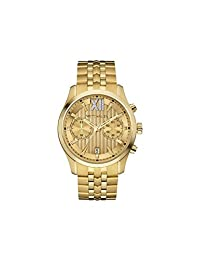 Wittnauer Wn3065 Men's Strainless Steel Gold Bracelet Band Gold Dial Watch