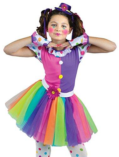 [Clownin' Around Kids Costume] (Clownin Around Girls Costumes)