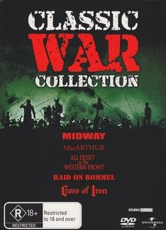 All Quiet on Western Front / Cross of Iron / MacArthur / Midway / Raid on Rommel DVD