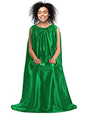 Fidelis Yoni Steam Gown (Emerald Green), Bath Robe, Full Body Covering, V Steam for Women, Gown Cape, Yoni Steam Chair Body fit Dresses, queen v products for women