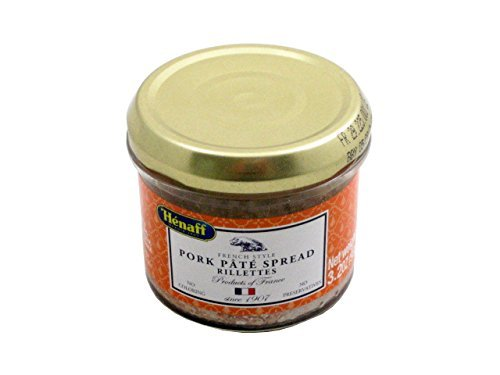 Henaff French Pork Rillettes - Traditional Recipe, 127 grams by - Pork French