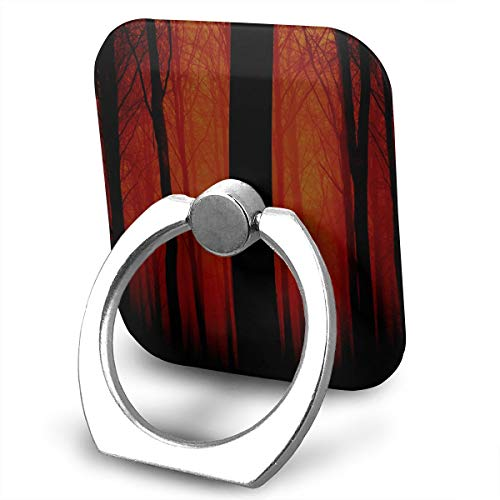 - Trees Red Fog Phone Ring Grips 360 - iPhone Ring Holder/Phone Stand/Phone Ring Stent Any Smartphones Device Including iPhone 6s, Samsung Galaxy S5 & All Others