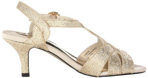 Easy Street Glamorösa Kvinna Sandalen Guld Glitter