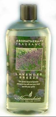 Alexandria Fragrance Lamp Oil Refills - 16oz - LAVENDER BREEZE - Beauty Fragrance Lamp