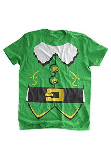 BumpCovers Elf Costume T-shirt lg Irish Green -