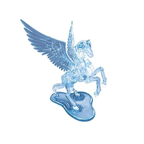 BePuzzled Pegasus Original 3D Deluxe Crystal Puzzle - Fun Yet Challenging Brain Teaser That Will Test Your Skills & Imagination, for Ages 12+
