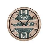 FOCO New York Jets NFL Barrel Wall Clock