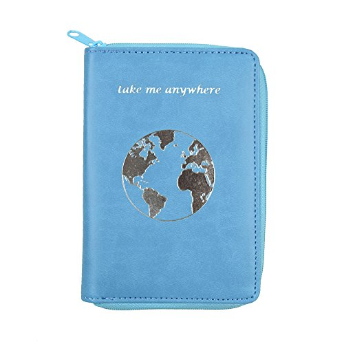 1019f6122efd Passport Holder with Zipper - Multiple Colors & Travel Quotes - RFID ...