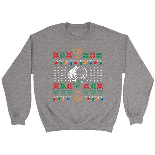 Brewmaster Craft Brewers Homebrewer Hops Funny Gift Idea Ugly Christmas Sweater -